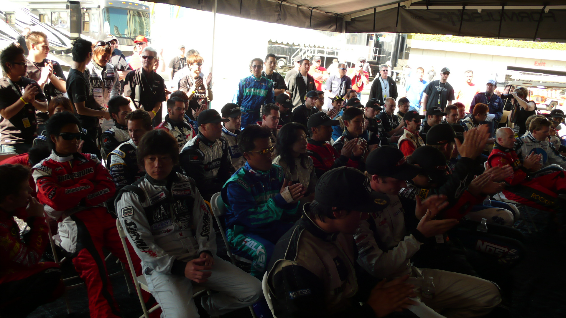 First Drivers Meeting of the Season