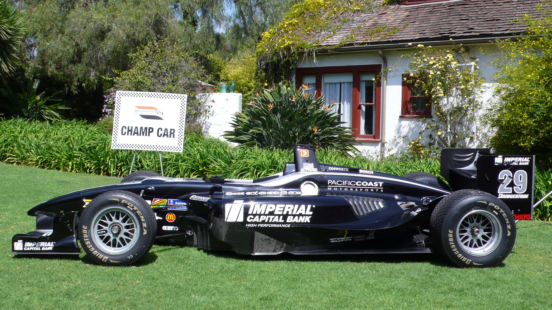 Alex Figge\'s Champ Car