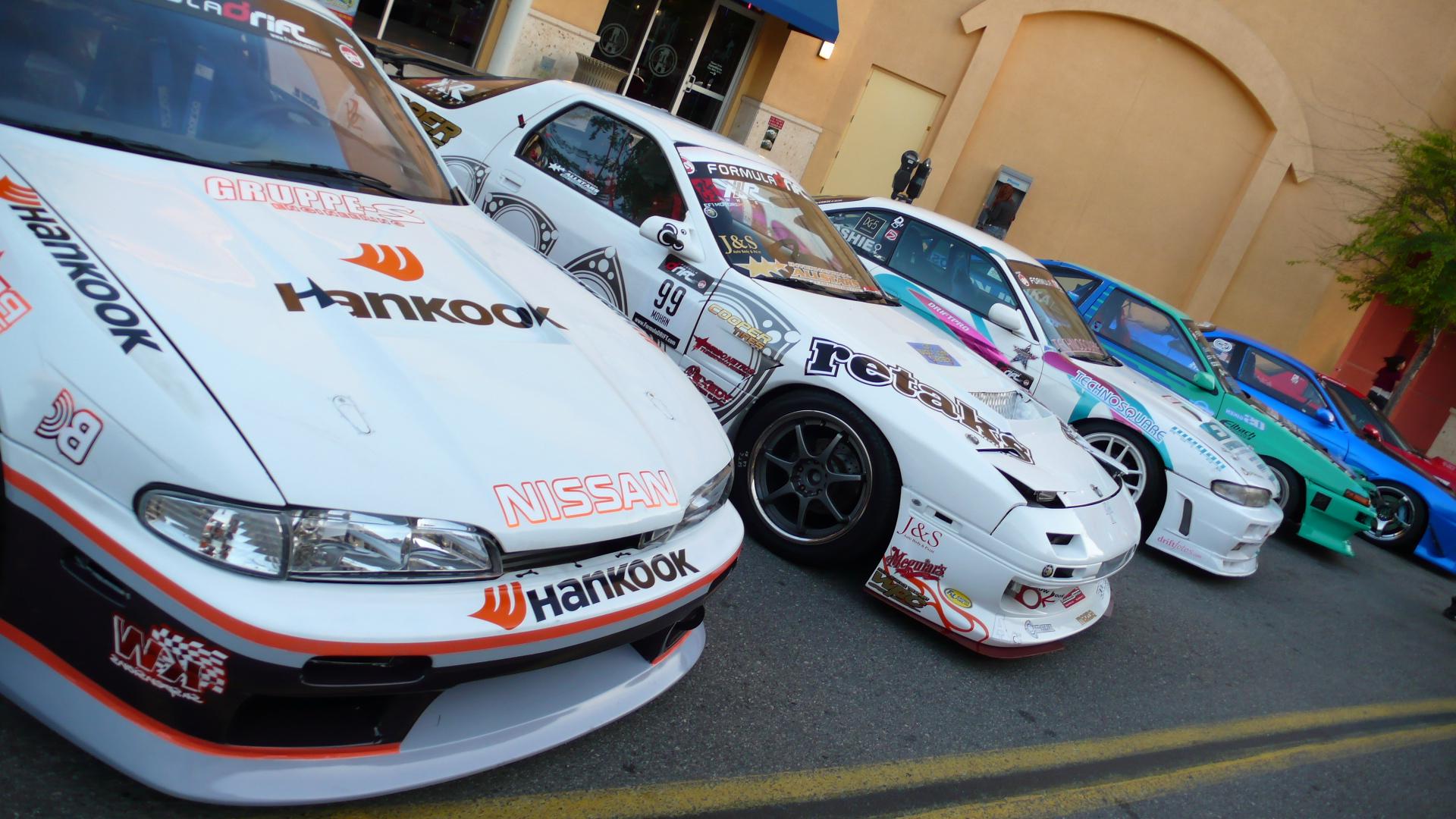 FD cars on display