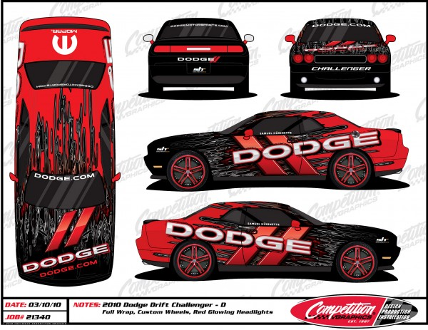 1st Rendering of Hubinette Racing Challenger