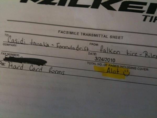 Falken Fax