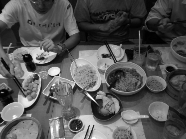 Round 1 of food