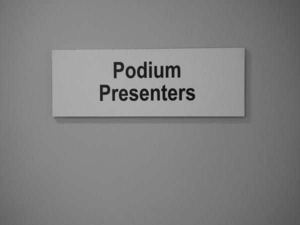 F1 Podium area