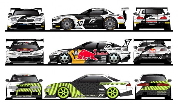 Behind The Scenes Designing The Need For Speed Livery