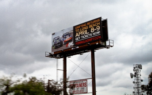 Formula D Billboard