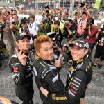 Top three winners of the fourth edition of FD Singapore 2011