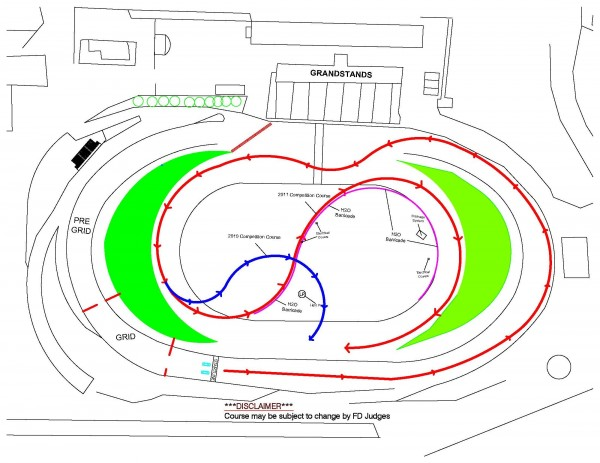 2011 Irwindale Layout with 04-10 Overlay