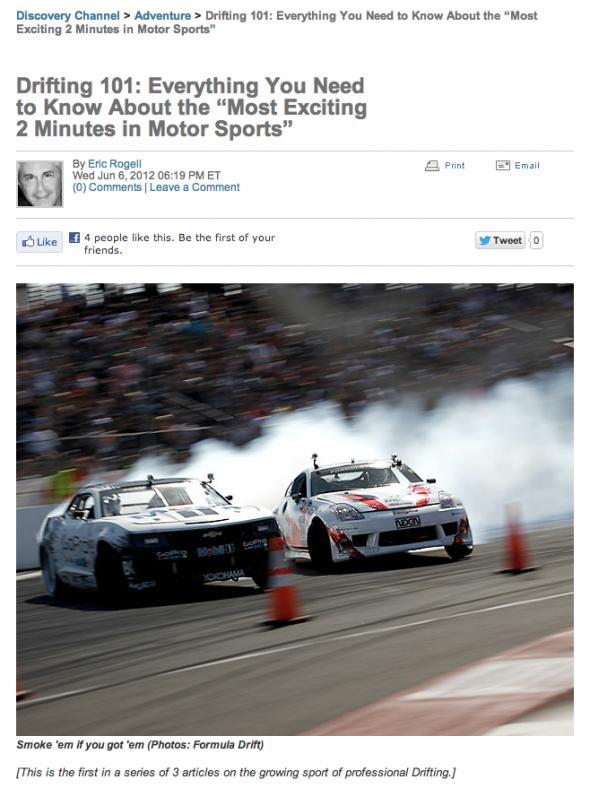 Eric O Sullivan Formula Drift Blog