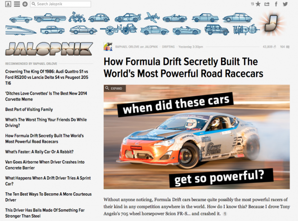 How Formula Drift Secretly Built The World s Most Powerful Road Racecars