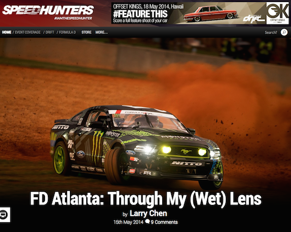 Speedhunters - FD Atlanta  Through My  Wet  Lens