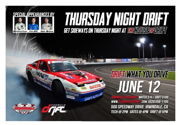 Thursday Night Drift - June 12th