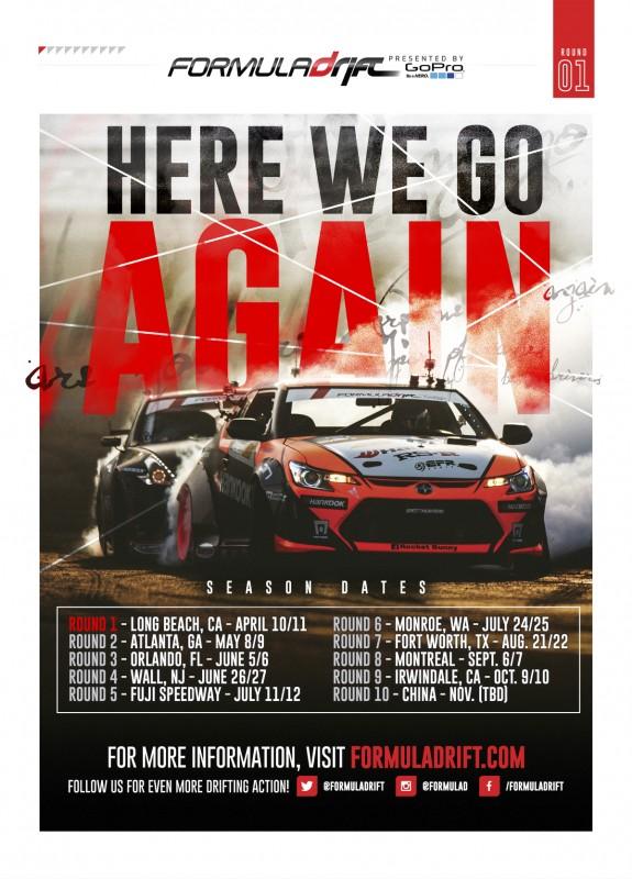20150112 Formula Drift Pre-Season Ad