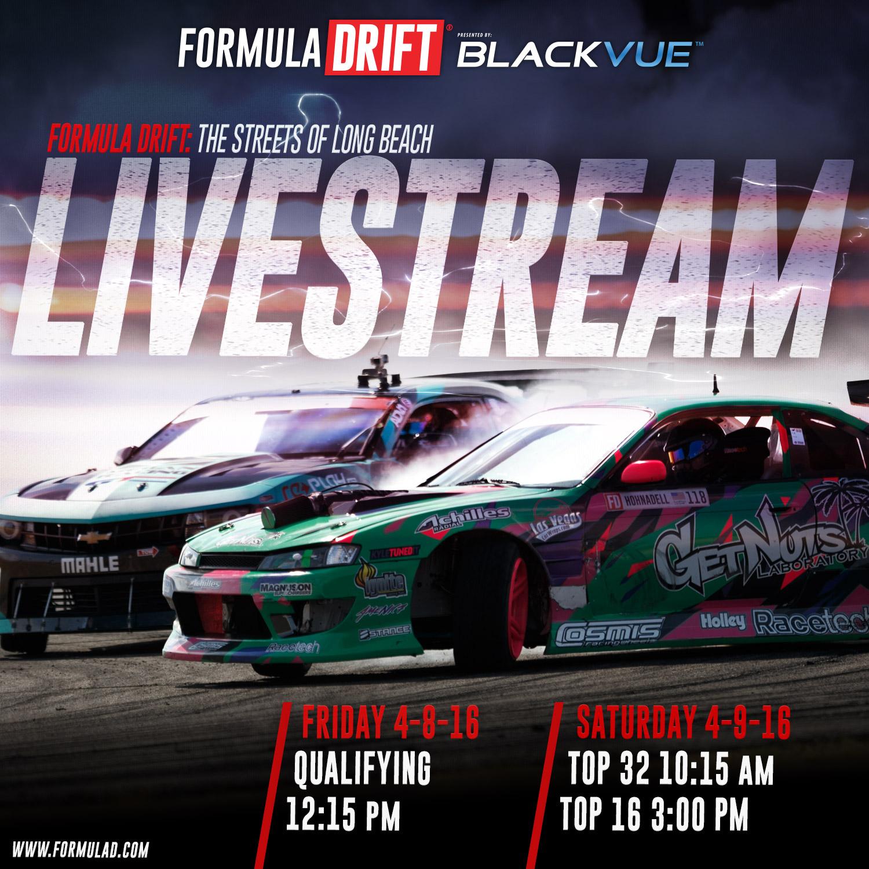 Formula D Long Beach Live Stream