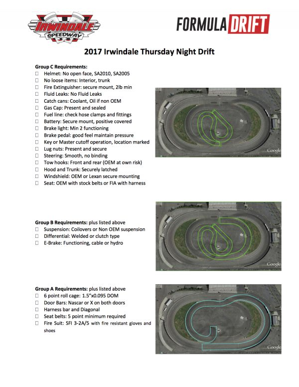 Thursday Night Drift one sheet 2017