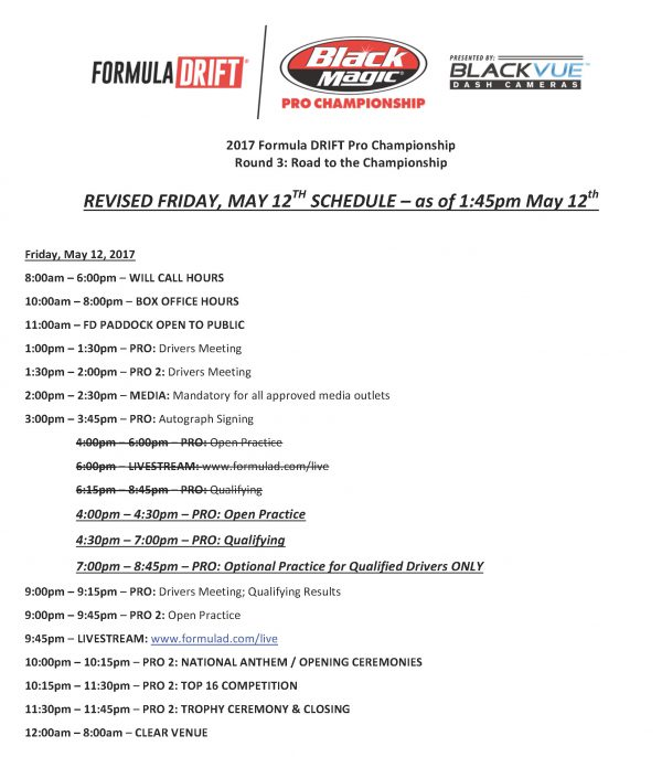 RD3 Atlanta - Schedule of Events_Fri REVISED